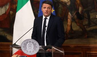 new political turmoil in italy after renzi quits as ruling party leader, triggering re-election battle