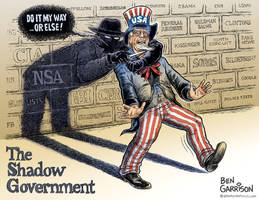 The Shadow Government's Destruction Of Democracy