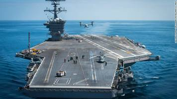 US Aircraft Carrier Group Begins Routine Patrols In Disputed South China Sea