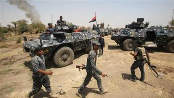 Iraqi forces launch operation to liberate western part of Mosul city from IS