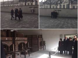 As Trump Struggles With Questions of Anti-Semitism, Pence Visits Dachau