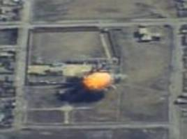 Russian Defence Ministry strikes ISIS base