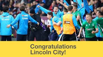 lincoln city: how imps became fa cup legends