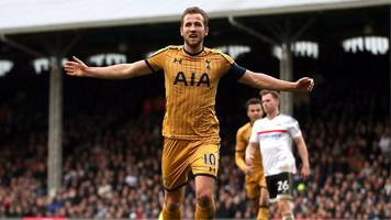 fa cup: harry kane completes hat-trick for tottenham at fulham