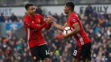 FA Cup: Marcus Rashford equalises for Manchester United with cool finish