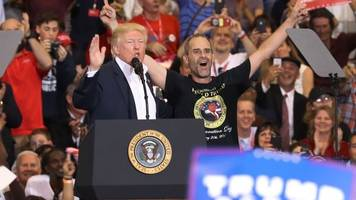 trump surprised a 'yuge' fan at his florida rally