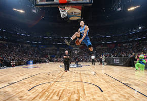 Intel made a drone to help an NBA player in the Slam Dunk Contest