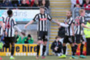 jon stead a 'little disappointed in himself' as he let america...