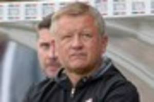 Sheffield United manager Chris Wilder said they made Scunthorpe...