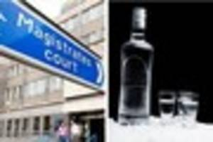 Jailed: Drink driver who crashed into a taxi was three times the...