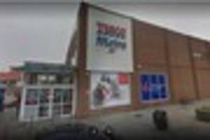 a shoplifter stole meat from tesco in margate after his...