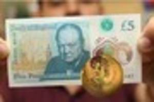 There is one more super-rare five pound note worth £50,000...