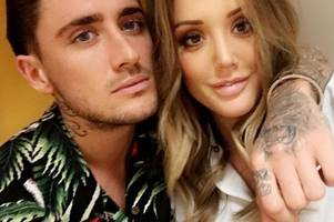 Stephen Bear 'pinches Charlotte Crosby's bum' as they continue to hint at romance on holiday