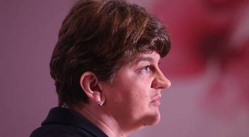 Arlene Foster says election polls show DUP and Sinn Fein will be 'neck and neck'