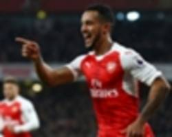 TEAM NEWS: Alexis benched and no Ozil as Walcott starts in attack for Arsenal