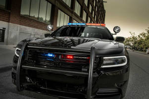 new tech protects police officers in parked charger pursuit vehicles from ambush