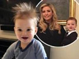 Ivanka shares adorable photo of wild-haired baby Theodore