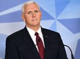 Pence says Trump supports a free and independent press