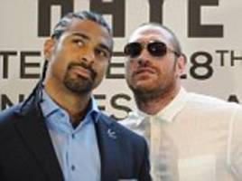 david haye hopes tyson fury returns to ring and fights him