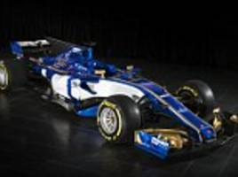 sauber unveil images of car for 2017 f1 season