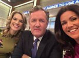 Fans celebrate Piers Morgan and Susanna Reid's GMB return