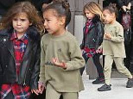 North West enjoys a play date with cousin Penelope Disick