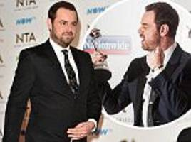 'Tired' Danny Dyer is calmed by EastEnders colleagues