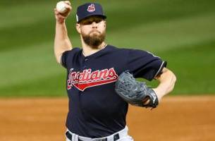 Indians taking slow approach with ace Corey Kluber