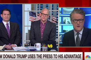'Morning Joe': Trump's 'Not Smart Enough' to Actually Hurt CNN (Video)