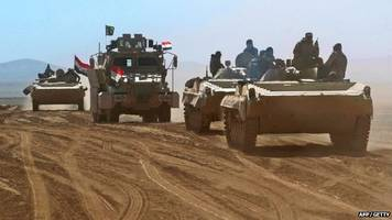 iraqi forces 'within sight' of is stronghold of mosul