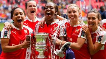 women's fa cup: arsenal ladies to host tottenham in fifth round