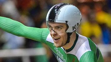 track cycling world cup: mark downey takes silver medal in madison class