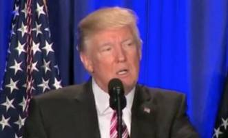 trump slams 'fake news media' for saying large scale immigration is good for sweden