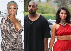 Report: Blac Chyna Is Trying to Steal Kanye West From Kim Kardashian