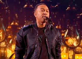 Watch John Legend's Show-Stopping Performance at NBA All-Star Game 2017 Halftime Show