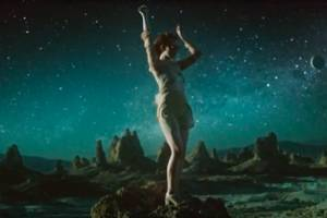 Lana Del Rey's new video is a love story set in outer space