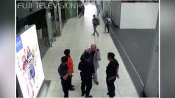 Kim Jong Nam's reported poisoning caught on surveillance video