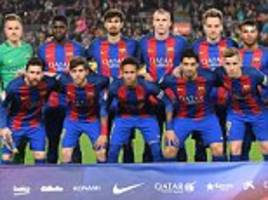 Barcelona make history with one Spaniard in starting XI