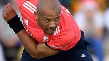 england's fastest bowler tymal mills who can only play t20