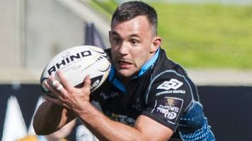 Glasgow Warriors: Simone Favaro and Djustice Sears-Duru to exit in summer