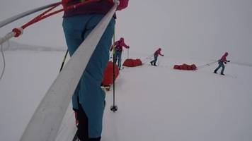 How female explorers face challenges of south pole trek