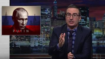 John Oliver On Putin's Russian And 'Moral Equivalence' With The US