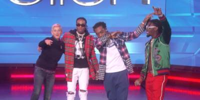 """watch migos perform """"bad and boujee"""" on """"ellen"""""""