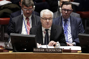 Russia's Ambassador to United Nations Dies in NYC at 64