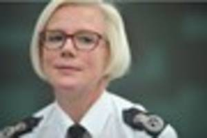 Humberside Police chief constable Justine Curran announces...