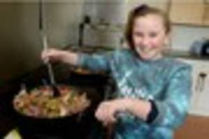 torquay pupil pays from her own pocket to feed 40 homeless people