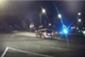 Woman in distress talked down from A38 bridge by police officer