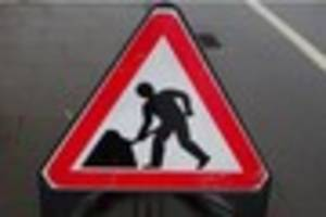 scunthorpe roadworks starting today likely to last two weeks