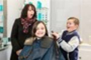 Brave Bayford girl supports Princess Trust by cutting her hair...