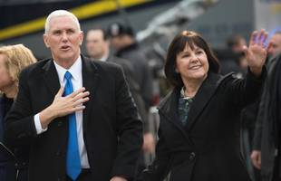 Pence takes charm offensive to EU and NATO
